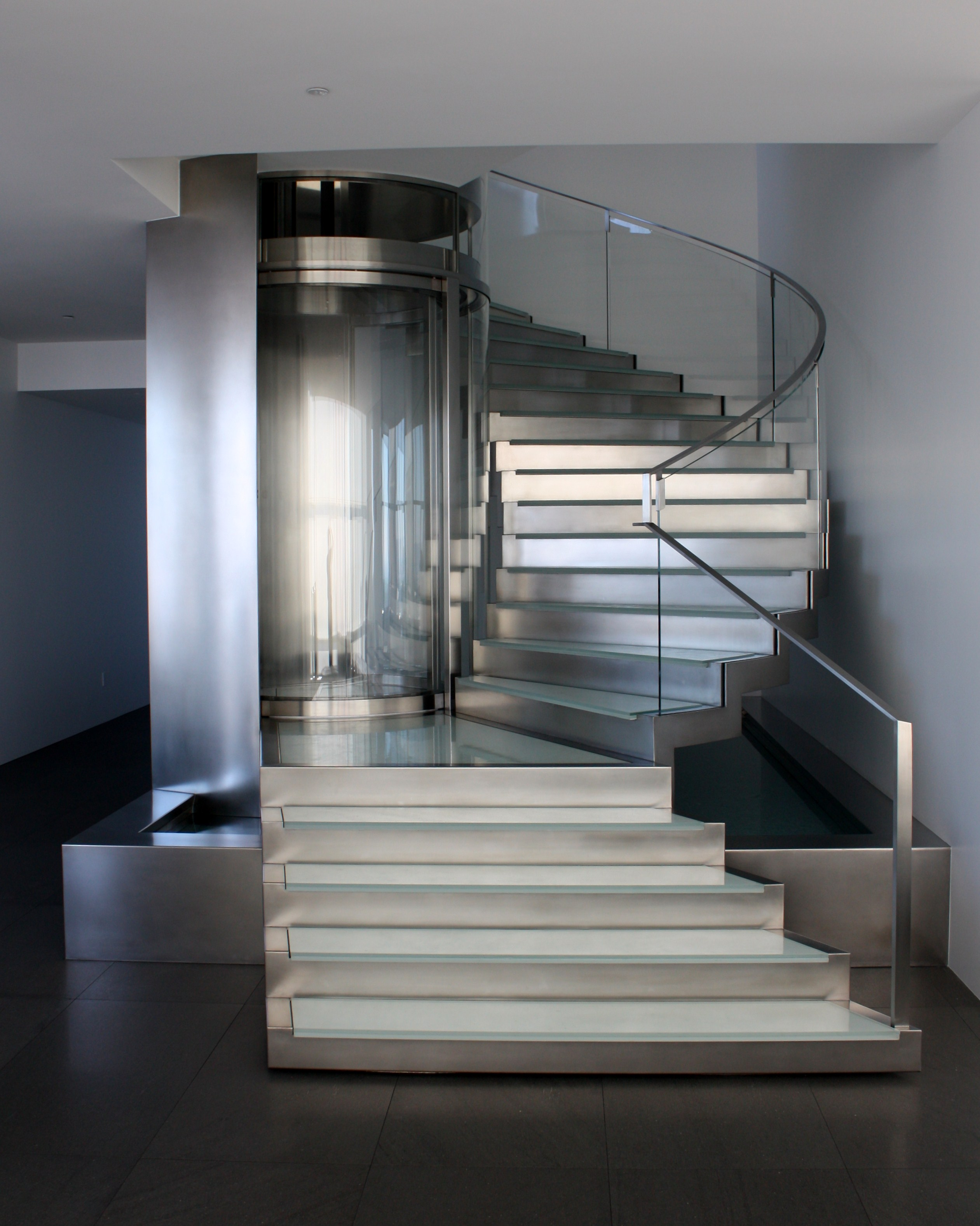 glass elevators for residence